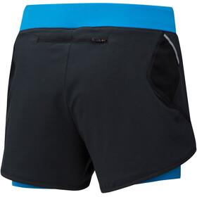 Mizuno Mujin 4.5 - Pantalones cortos running Mujer - azul/negro